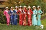 Miss Rodeo California 2013 Contestants
